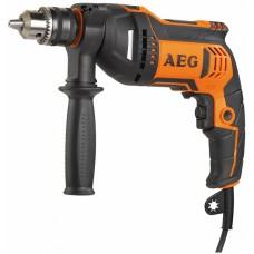 Дрель ударная AEG SBE 750 RZ (4935442840)