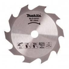 Диск пильный Makita D-03327 для дисковой пилы 165*20*10z